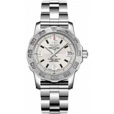 Réplica Breitling Colt 33 plata Dial Reloj de senoras