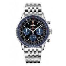 Réplica Breitling Navitimer 01 Limited Azul Edicion Acero inoxidable Hombres Reloj