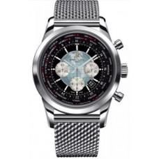 Réplica Breitling Transocean Cronografo Unitime Acero inoxidable Reloj