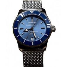 Réplica Breitling Superocean Heritage II Automatico Hombres Acero inoxidable Mesh Reloj