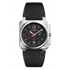 Réplica Bell & Ross BR 03 94 Negro Acero Reloj
