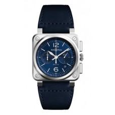 Réplica Bell & Ross BR 03 94 Azul Acero Reloj