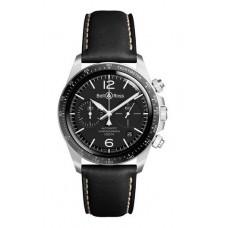 Réplica Bell & Ross Vintage BR V2-94 Negro Acero Reloj