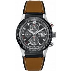 Réplica Tag Heuer Carrera Cronografo Automatico Hombres Reloj CAR201W.FT6122