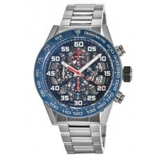 Réplica Tag Heuer Carrera Skeleton Automatico Cronografo Hombres Reloj CAR2A1K.BA0703
