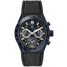 Réplica The TAG Heuer Carrera Tete de Vipere Cronografo Tourbillon Chronometer