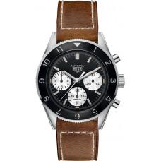 Réplica Tag Heuer Heritage Negro Dial Hombres Cronografo Reloj CBE2110.FC8226