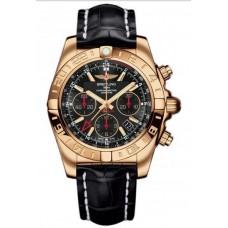 Réplica Breitling Chronomat 44 GMT Rosa oro Reloj