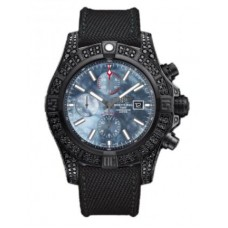 Réplica Breitling Super Avenger II Acero inoxidable Reloj