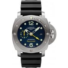 Réplica Panerai Luminor Submersible 1950 3 Days GMT Automatico Titanio 47mm PAM00719 Reloj