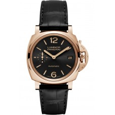 Réplica Panerai Luminor Due 3 Days Automatico Oro Rosso 38mm PAM00908 Reloj