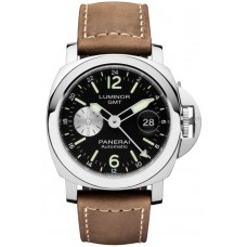 Réplica Panerai Luminor GMT Automatico Acciaio 44mm PAM01088 Reloj