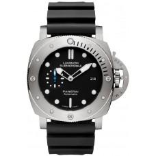 Réplica Panerai Luminor Submersible 1950 3 Days Automatico Titanio 47mm PAM01305 Reloj