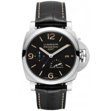 Réplica Panerai Luminor 1950 3 Days GMT Power Reserve Automatico Acciaio 44mm PAM01321 Reloj