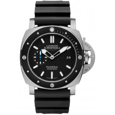 Réplica Panerai Luminor Submersible 1950 Amagnetic 3 Days Automatico Titanio 47mm PAM01389 Reloj