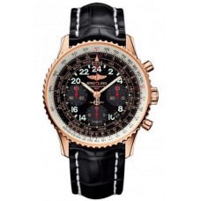 Réplica Breitling Navitimer Cosmonaute Rosa oro Reloj