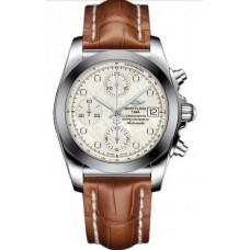 Réplica Breitling Chronomat 38 Acero inoxidable Reloj
