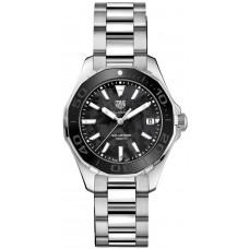 Réplica Tag Heuer Aquaracer Negro Madre perla Dial Reloj de senoras WAY131K.BA0748