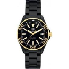 Réplica Tag Heuer Aquaracer Negro Dial Senoras Ceramic Reloj WAY1321.BH0743