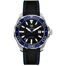 Réplica Tag Heuer Aquaracer Automatico Negro Dial Hombres Reloj WAY201C.FC6395