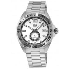Réplica Tag Heuer Formula 1 Automatico Blanco Dial Hombres Reloj WAZ2013.BA0842