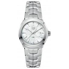 Réplica Tag Heuer Link Madre perla Dial Reloj de senoras WBC1310.BA0600