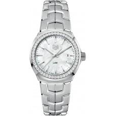 Réplica Tag Heuer Link Quartz 32mm Reloj de senoras WBC1314.BA0600