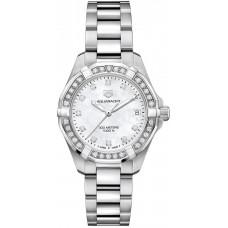 Réplica Tag Heuer Aquaracer Quartz Senoras 32mm Reloj de senoras WBD1315.BA0740