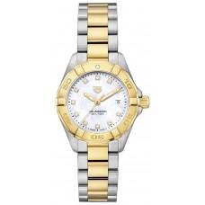 Réplica Tag Heuer Aquaracer Quartz Senoras 27mm Reloj de senoras WBD1422.BB0321