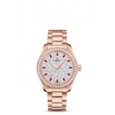 Réplica OMEGA Seamaster Sedna oro Diamantes 220.55.34.20.99.002 Replica Reloj