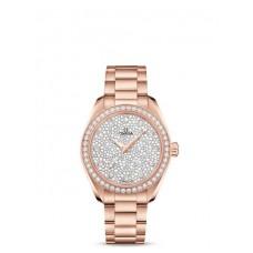 Réplica OMEGA De Ville Acero Diamantes 428.17.36.60.05.001 Replica Reloj