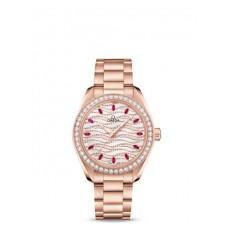 Réplica OMEGA Seamaster Sedna oro Diamantes 220.55.34.20.99.001 Replica Reloj