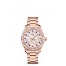 Réplica OMEGA Seamaster Sedna oro Diamantes 220.58.34.20.99.001 Replica Reloj