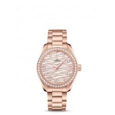 Réplica OMEGA Seamaster Sedna oro Diamantes 220.58.34.20.99.005 Replica Reloj