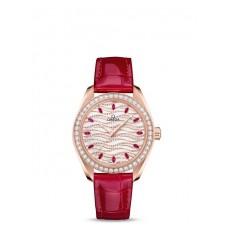 Réplica OMEGA De Ville Acero - red oro Diamantes 424.23.33.20.52.002 Replica Reloj