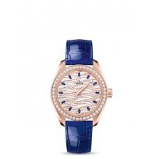 Réplica OMEGA Seamaster Sedna oro Diamantes 220.58.34.20.99.003 Replica Reloj