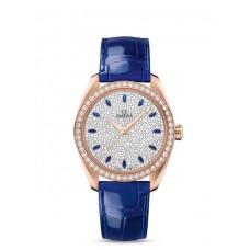 Réplica OMEGA Seamaster Sedna oro Diamantes 220.58.38.20.99.001 Replica Reloj