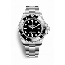 Réplica Rolex Deepsea OysterAcero 126660 Negro Dial Reloj