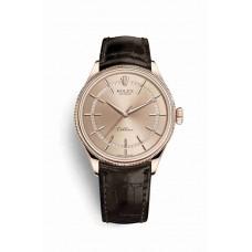 Réplica Rolex Cellini Time Everose oro 50505 Rosado Dial Reloj