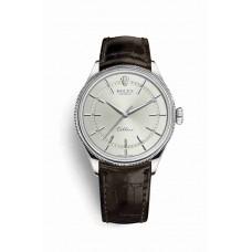 Réplica Rolex Cellini Time Oro blanco 50509 Rhodium Dial Reloj