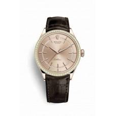 Réplica Rolex Cellini Time Everose oro 50705RBR Rosado Dial Reloj