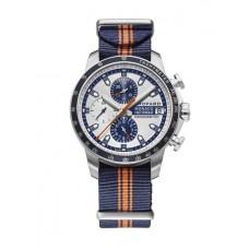 Chopard Gry Prix de Monaco Historique Cronografo Esfera blanca Azul Fabric Edicion limitada para hombre