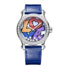 Chopard Happy Love Inoxidable Acero & Diamantes 278559-3021