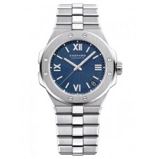 Chopard Alpine Eagle 36mm Lucent Acero Azul Dial