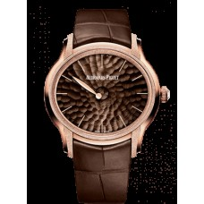 Audemars Piguet Millenary Frosted Oro Philosophique Oro rosado/Brown 77266OR.GG.A823CR.01