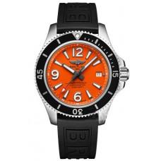 Breitling Superocean II 42 Steel Orange Marcar A17366d71o1s1 Réplicas