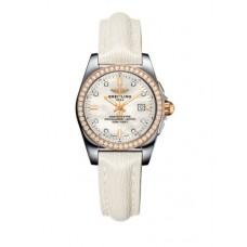 Breitling Galactic 29 Acero inoxidable / Oro rosa / Diamante / Diamante perla / Becerro (C7234853 / A792 / 484X / A12BA.1) Réplicas
