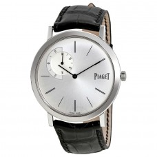 Piaget Altiplano Marcar de plata Cuero negro Automático Hombre G0A33112 Réplicas