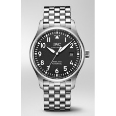 IWC de aviador Mark Xviii Black Dial Acero para hombre Iw327015