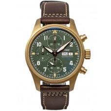 IWC de aviador Spitfire Cronografo Bronze Automatica 41mm IW387902